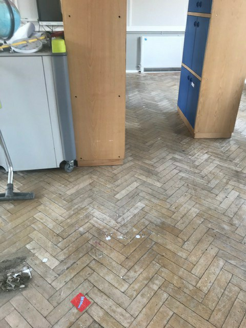 harmed herringbone floor Croydon