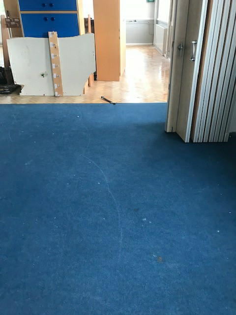 commercial carpet removal services