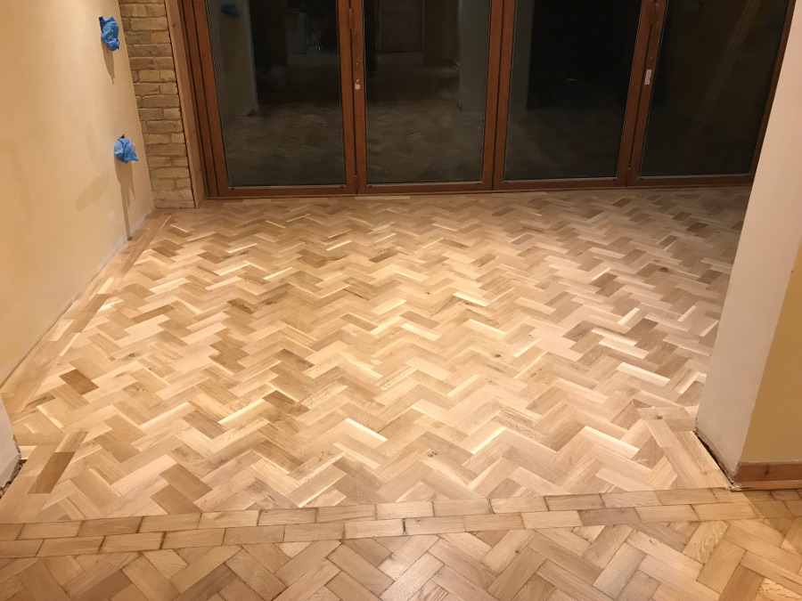 Herringbone repair