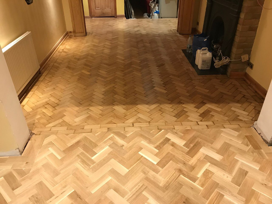 Herringbone floor Bromley
