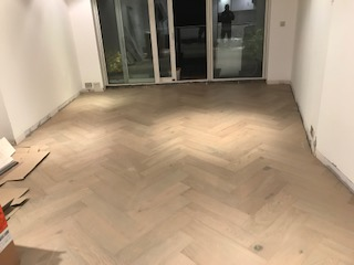 herringbone floor Wandsworth