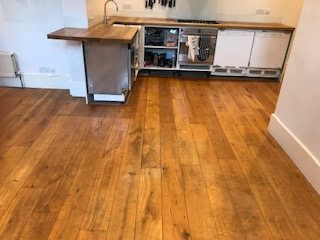 before after sanding in Hammersmith