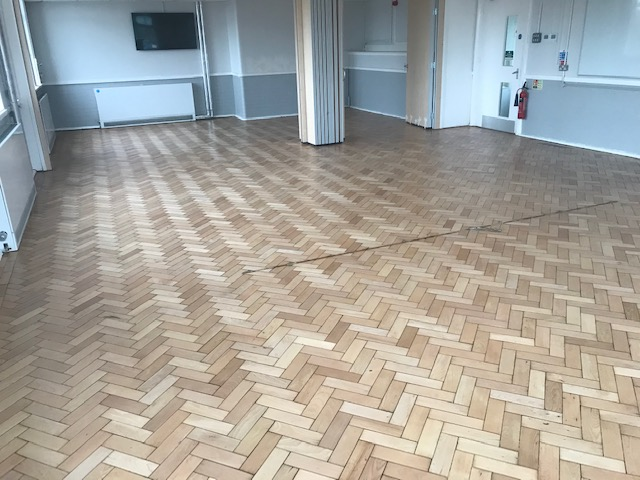 floor restoration of school croydon