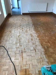 Bromley floor restoration