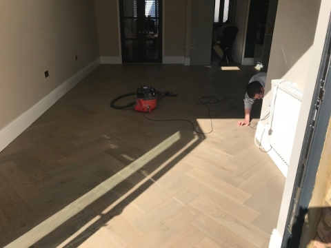 Herne Hill floor installation