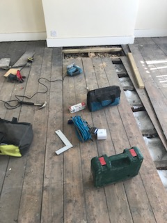 Wood Floor Replacement Kensighton & Chelsea