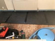 engineered floor installation